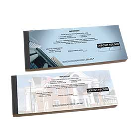 Deposit Ticket Books