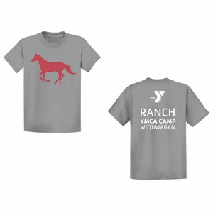 Ranch Camp T-Shirt-Grey