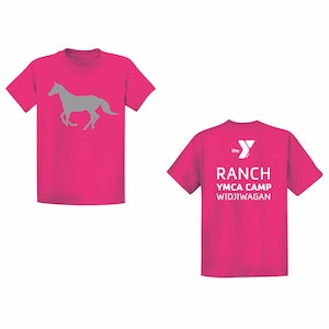 Ranch Camp T-Shirt-Pink
