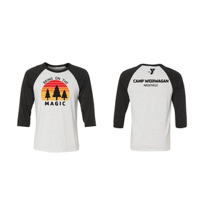 Camp Widji Magic Baseball T-Shirt