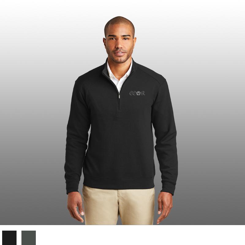 Port Authority® Interlock 1/4-Zip Pullover
