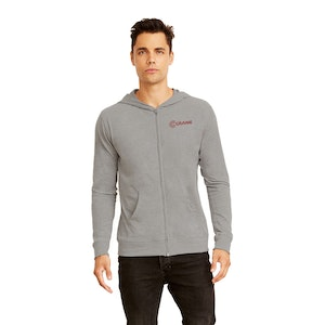Next Level Adult Sueded Full-Zip Hoody