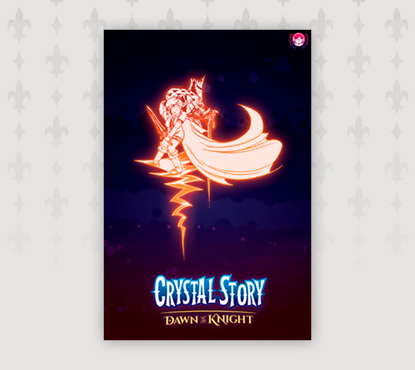 Crystal Story – Dawn of the Knight Poster