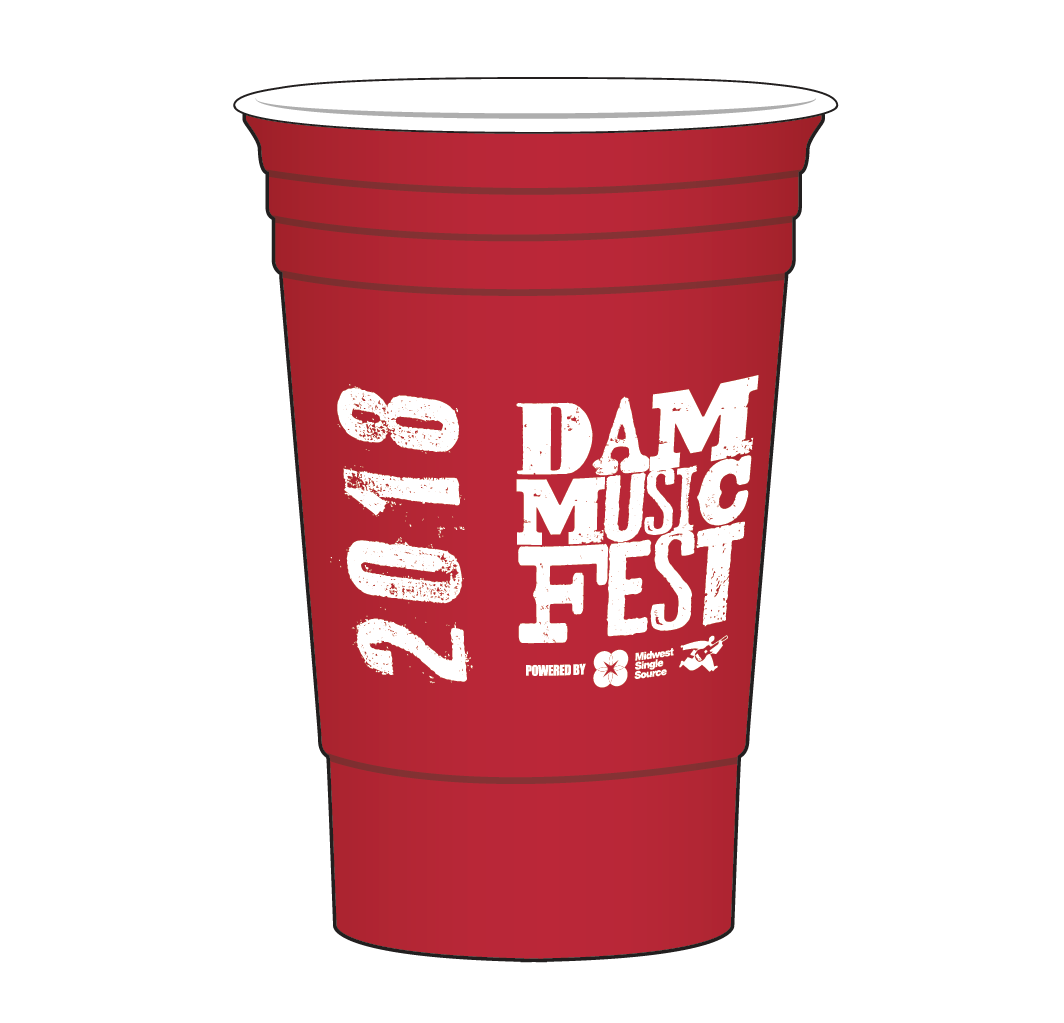 THE ONLY DAM cup