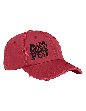 Distressed Cap w/Embroidery $25.00