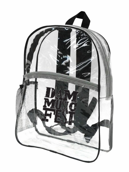 Clear PVC Security Backpack $15.00