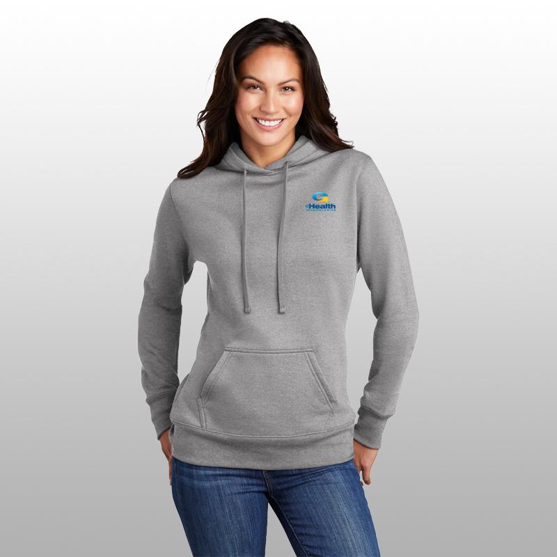 Port & Company® Ladies Core Fleece Pullover Hoodie