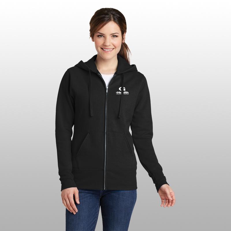 Port & Company® Ladies Core Fleece Full-Zip Hoodie