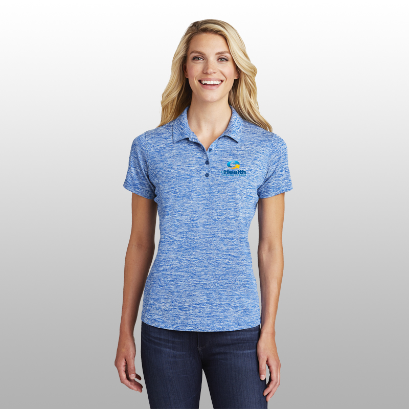 Sport-Tek® Ladies PosiCharge® Electric Heather Polo