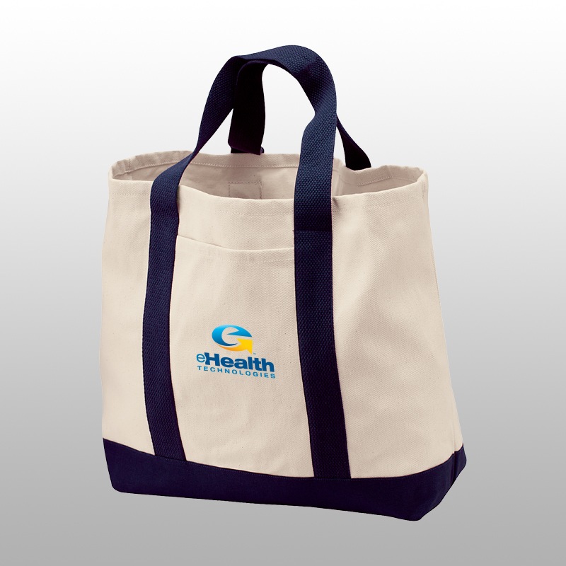 Port Authority Two-Tone Shopping Tote