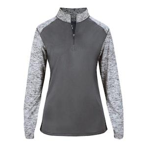 Badger Ladies Sport Blend 1/4 Zip. 15485
