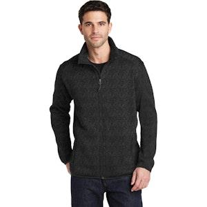 Port Authority Sweater Fleece Jacket. F232