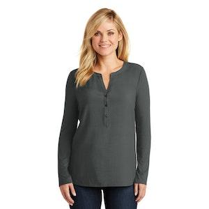 Port Authority Ladies Concept Henley Tunic. LK5432