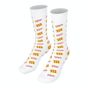 New! - Ellio's Printed Socks