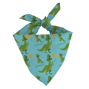 New! - ELLIO'SAURUS Rex Dog Bandana
