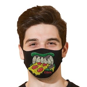 New! - Zombie Face Mask