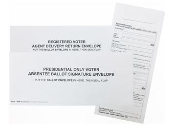 Agent Delivery & Presidential Envelopes