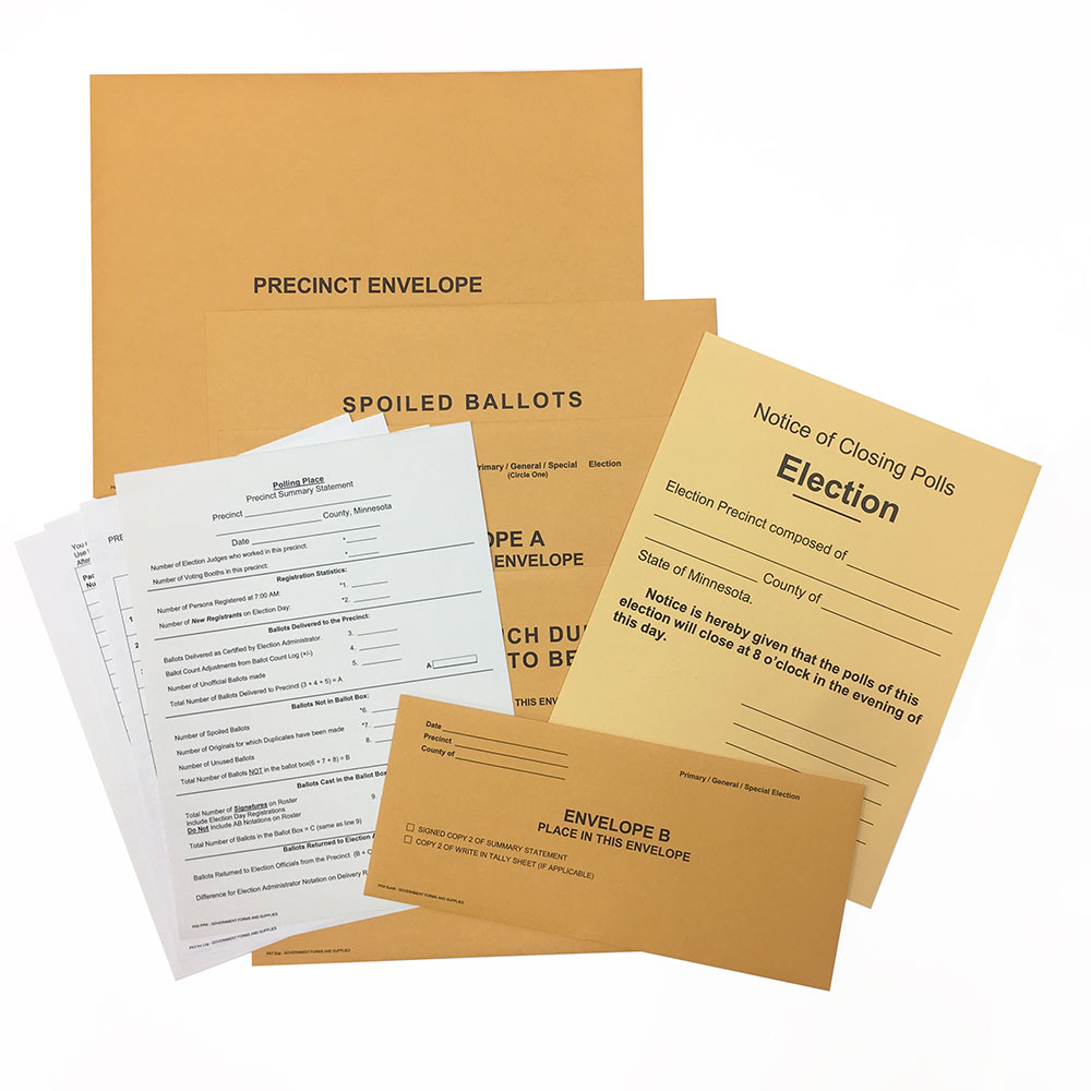 Precinct Envelope Kits