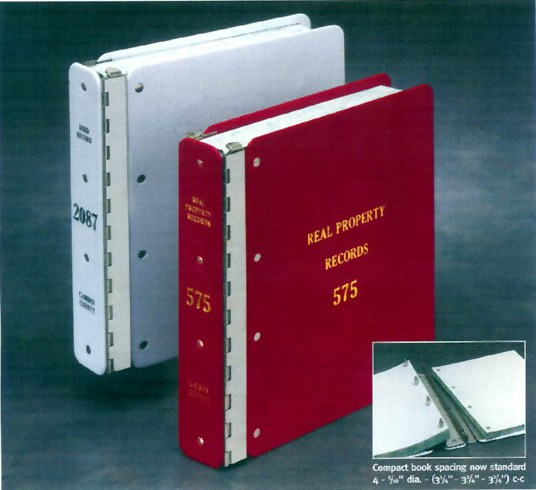 Indestructo Mini-Max Record Binders