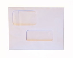 Double Window Postcard Envelope