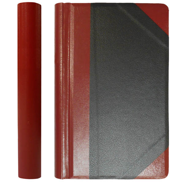 Legal size Red & Black Blank Minute Book