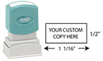 N04 - Custom Small Address/Inspection Stamp
