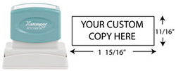 N11 - Custom Standard Message/Return Address Stamp
