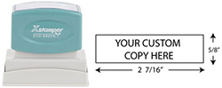 N14 - Custom Business Address Sized Stamp