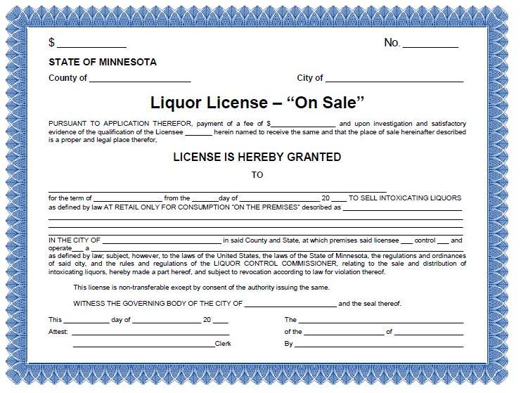 On-Sale Liquor