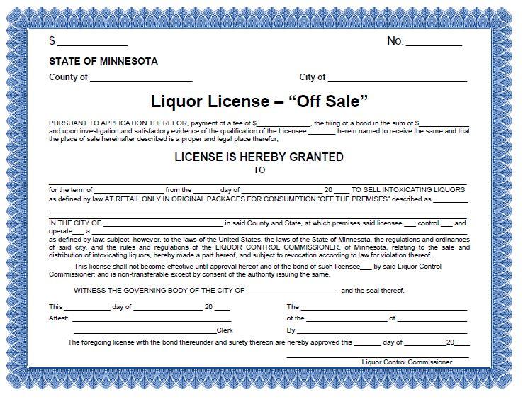 Off Sale Liquor