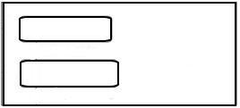 ENV2 No Security Tint Form Envelope