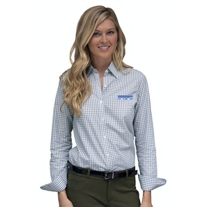 Women's Easy-Care Gingham Check Shirt, 1108 1108