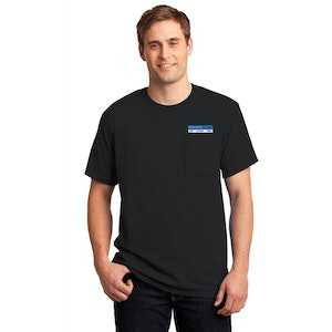 JERZEES -  Dri-Power Active 50/50 Cotton/Poly pkt T-Shirt.  29MP