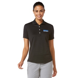 Ladies Callaway Textured Performance Polo CGW144