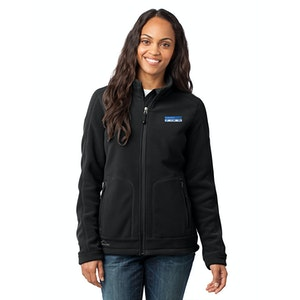 Eddie Bauer® - Ladies Wind-Resistant Full-Zip Fleece Jacket. EB231
