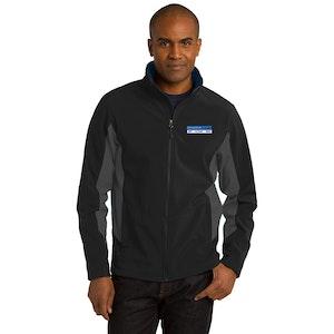 PA Core Colorblock Soft Shell Jacket. J318