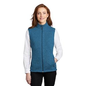Port Authority  Ladies Sweater Fleece Vest L236