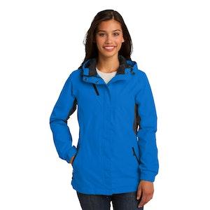 Port Authority Ladies Cascade Waterproof Jacket. L322