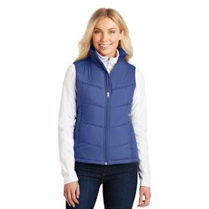 Port Authority Ladies Puffy Vest. L709