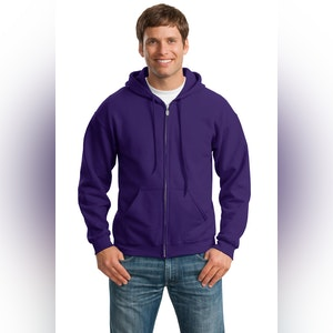 Gildan - Heavy Blend Full-Zip Hooded Sweatshirt. 18600