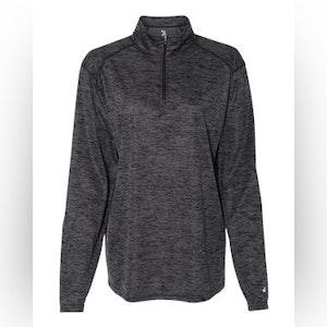 Women's Tonal Blend Quarter-Zip Pullover