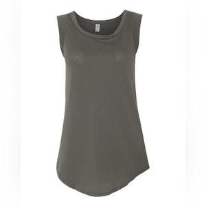 Women's Satin Jersey Cap Sleeve Tee