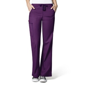WonderWink WonderFLEX Women's Grace Flare Leg Cargo Pant.  5308W