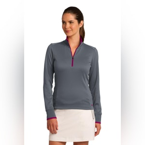 Nike Ladies Dri-FIT 1/2-Zip Cover-Up. 578674