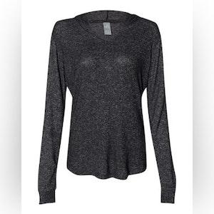 Women's Cozy Jersey Hooded Sweatshirt