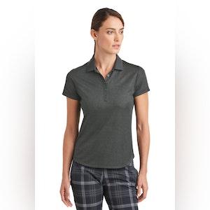 Nike Ladies Dri-FIT Crosshatch Polo. 838961