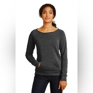 Alternative Women's Maniac Eco -Fleece Sweatshirt. AA9582