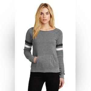 Alternative Women's Maniac Sport Eco-Fleece Sweatshirt. AA9583