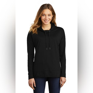District  Women's Featherweight French Terry  Hoodie DT671