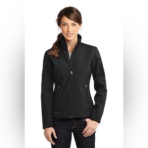 Eddie Bauer Ladies Rugged Ripstop Soft Shell Jacket. EB535